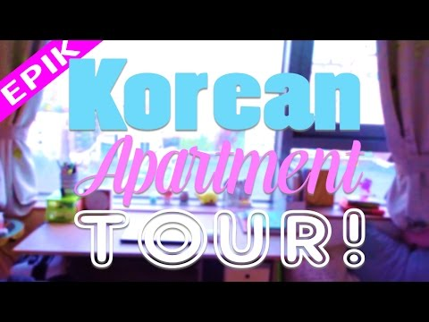 EPIK KOREAN APARTMENT TOUR | Seoul Teacher Apartment 2016