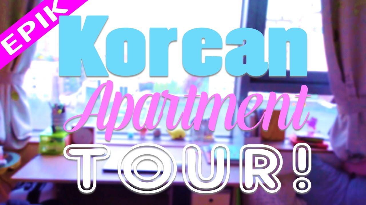 epik korean apartment tour   seoul teacher apartment 2016 - youtube