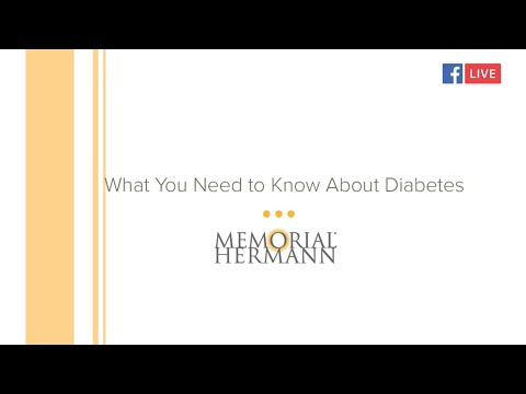 Expert Chat | What You Need To Know About Diabetes