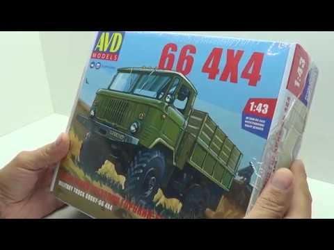 Сборка ГАЗ-66. Автомобиль в деталях (by SSM).
