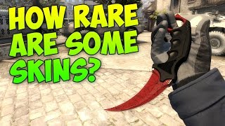 CS GO - Why & How Rare Are Some Skins?