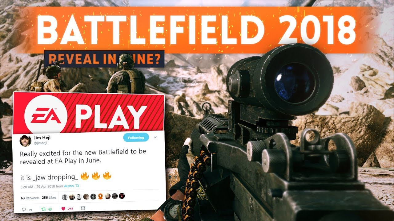 BATTLEFIELD 2018: Reveal Event Confirmed For June?