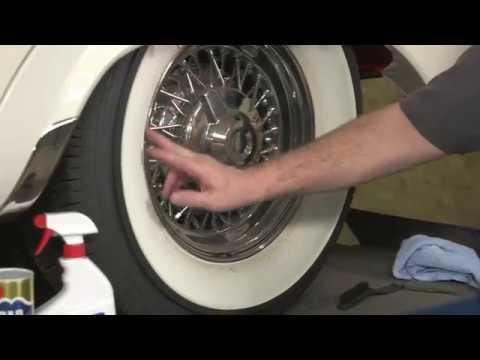 Cleaning White Wall Tires