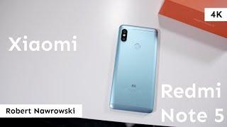 Xiaomi Redmi Note 5 Recenzja | Robert Nawrowski