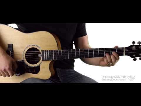 Highway Don't Care Tim McGraw Guitar Lesson and Tutorial (ft. Taylor Swift and Keith Urban)
