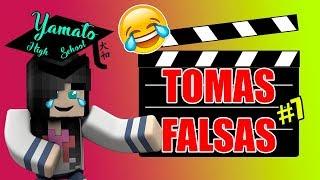 TOMAS FALSAS de 🎓Yamato High School🎓 #7