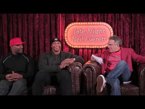 Late Night with Neil Everett - Extended Interview w/ Eddie George and Troy Smith