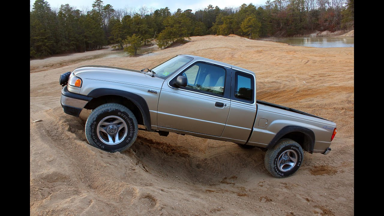 Off Road In My Ford Ranger Mazda B3000