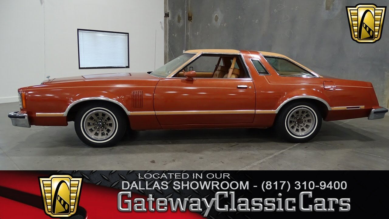 1979 Ford Thunderbird Stock #156 Gateway Classic Cars of Dallas ...