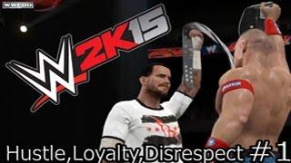PS4/WWE 2k15 - Прохождение на Русском языке #1