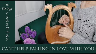 Can't Help Falling in Love Lyre Harp Cover