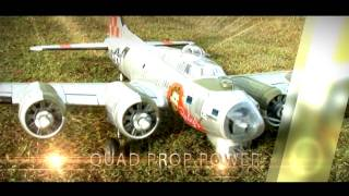 Freewing B-17 Flying Fortress (EPO) R/C Plane