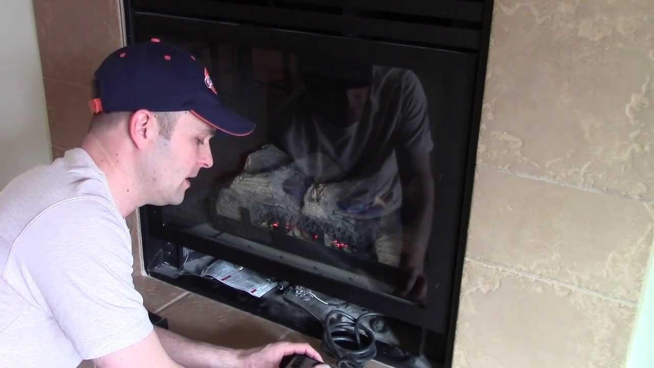 How home Gas Fireplace fan blowers work - Montigo - YouTube