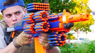 Nerf War: Million Subscribers Battle