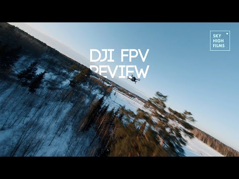 DJI FPV REVIEW   BEST FPV DRONE FOR BEGINNERS?