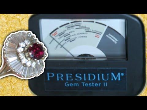 Presidium Gem Tester II (PGT II) - Testing Ruby, Diamond, Sapphire, Gemstone, Peridot