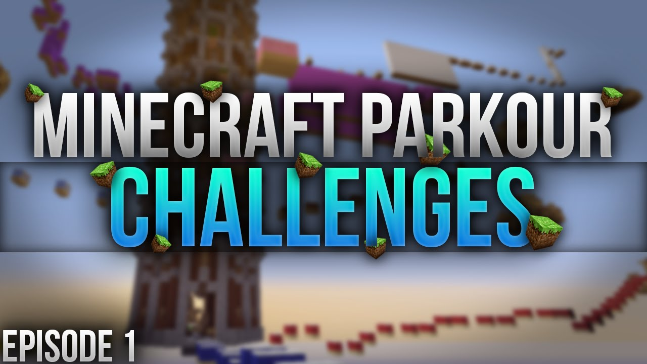 minecraft parkour challenge ep 1 possible ideas youtube