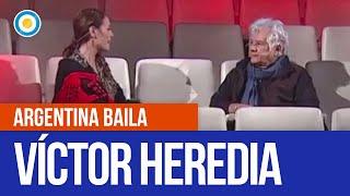 Víctor Heredia participo de 3 minutos, 3 respuestas en #ArgentinaBaila