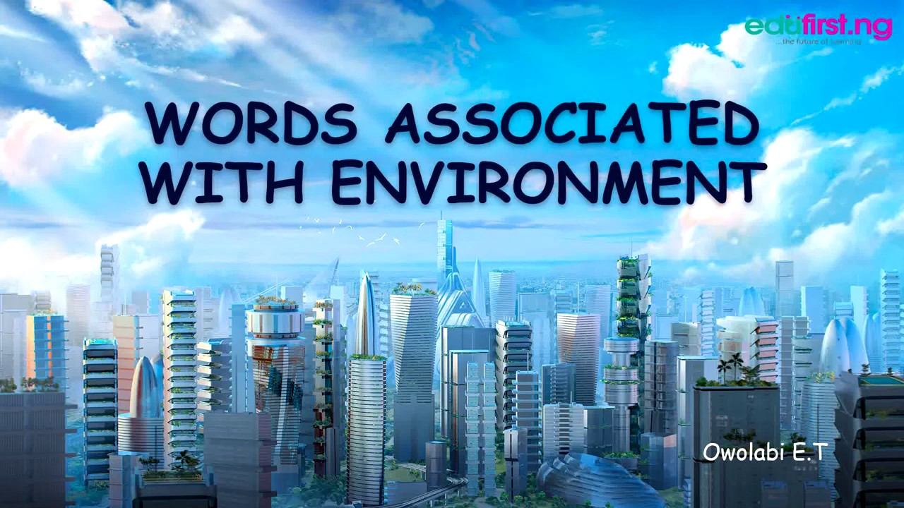 Words Ociated With Building