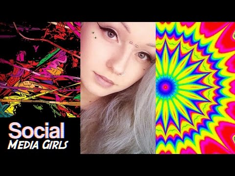 Social Media Girls (Trippy GIF Song Beat Compilation 2016 Video)
