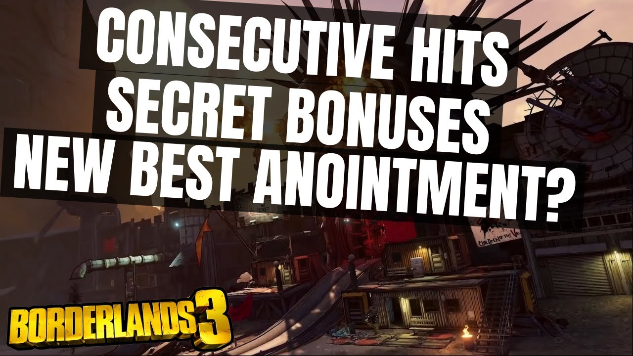 BEST ANOINTMENT WITH SECRET BONUSES? BORDERLANDS 3 *FOR MOZE AND TTB AMARA* thumbnail