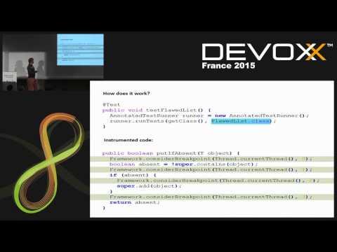 Unit testing concurrent code