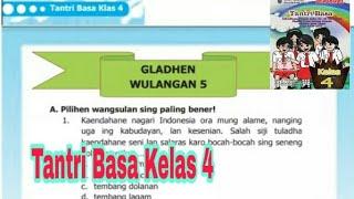 Gladhen Wulangan 5 Tantri Basa Kelas 4 Sd Semester 2 Kaca 95 Youtube