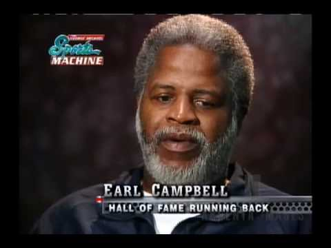 Earl Campbell talks about his career in the NFL