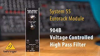 904B Voltage Controlled High Pass Filter