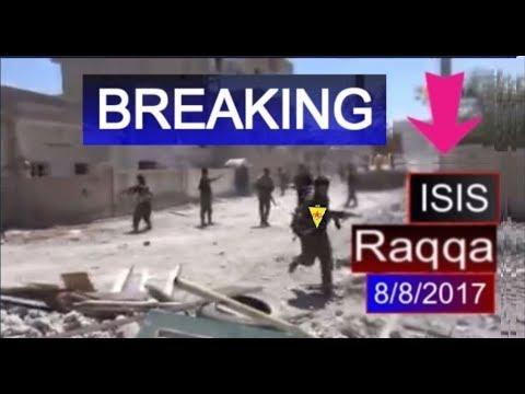 raqqa offensive :US  backed kurdish led syrian SDF captured 60% raqqa , 8/8/2017