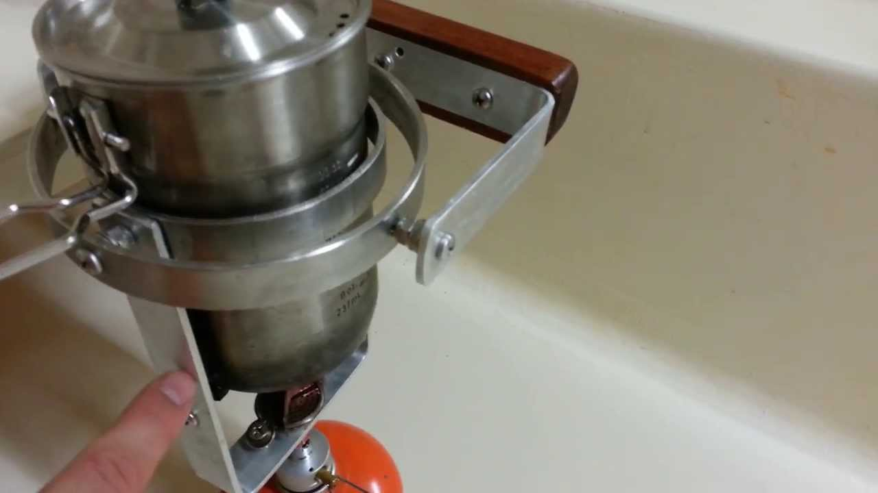 Improved Diy Gimbal Stove For Our Sailboat Youtube
