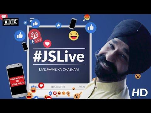 #JSLive (Original) - Facebook Live Punjabi Comedy | Jagdeep Singh Lamba Comedy | Funny 2017