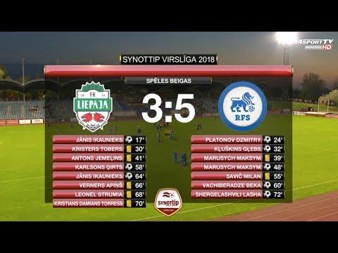 FK Liepāja/Mogo - RFS 3:5 labākie momenti (11.mai.)