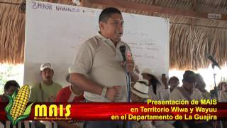 Presentación MAIS   Movimiento Alternativo Indígena Social