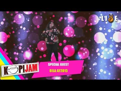 BILA AF- DIAM SAJA (LIVE PEACEYALLFM)