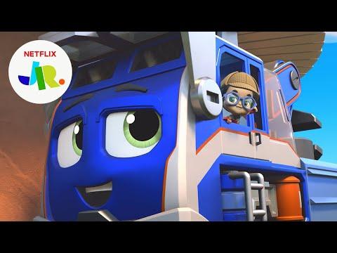Detective Milo & Nico Solve a Mystery 🔍 Mighty Express | Netflix Jr