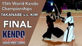 FINAL Japan v.s. Korea - 15th World Kendo Championships (2012)