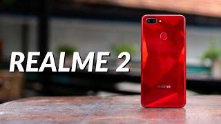 """Trên tay Realme 2: giá 3-5 triệu, Snapdragon 450, màn hình tai thỏ 6,2"""", pin 4230mAh, cam kép"""