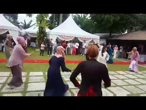 Zapin pengantin viral