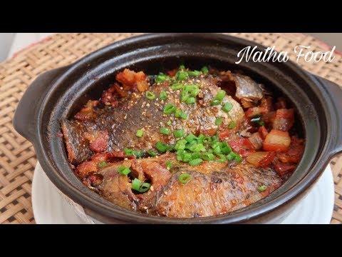 Cá rô kho tộ, món ngon đặc sản miền Tây   Cách kho đơn giản mà ngon tuyệt    Natha Food