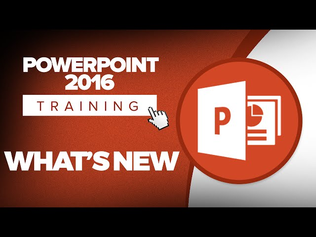 Microsoft PowerPoint 2016 Training Tutorials