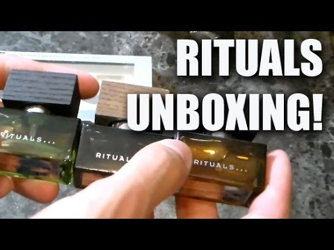 Rituals Auto Geur Houder.Rituals Unboxing First Impression