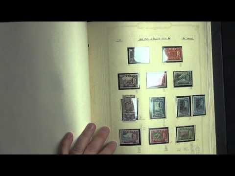 Malaya States Extensive Stamp Collection