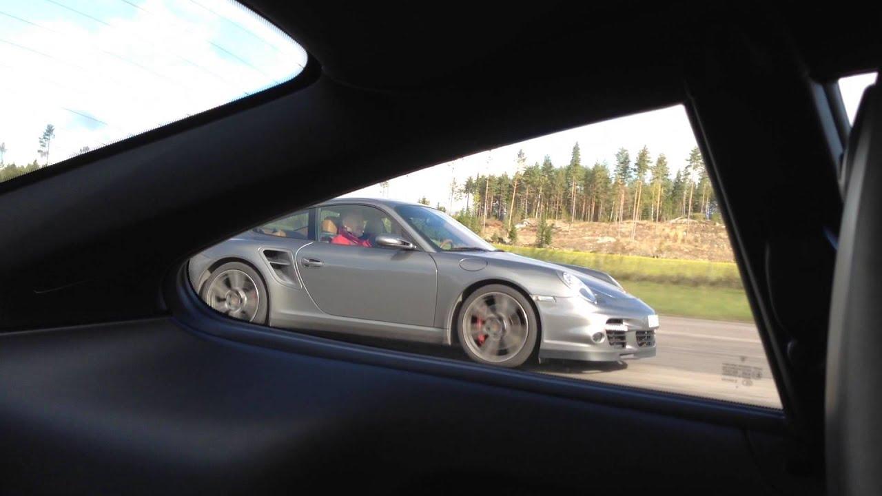 Porsche 997 Gt3 Mk2 Vs Porsche 997 Turbo Mk1 Youtube