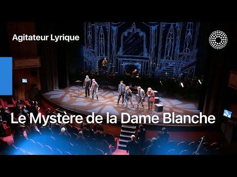 LE MYSTÈRE DE LA DAME BLANCHE
