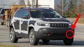 HOT NEWS! 2019 Jeep Cherokee Finally Reveals Its All New Nose