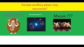 Почему колбасу режут под углом?(Хотите больше видео-фактов ? Пишите в комментарии о чем сделать следующее видео) И не забудьте поставить..., 2016-06-18T13:25:46.000Z)