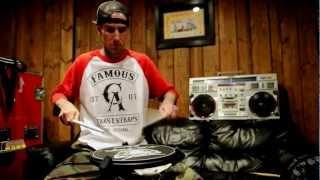 Travis Barker Practice Pad Warmup