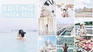 How I Edit My Instagram Photos & Plan My Feed 📷 2017
