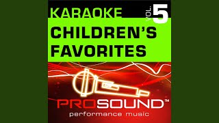 Green Grass Grows All Around (Karaoke Lead Vocal Demo) (In the style of Children